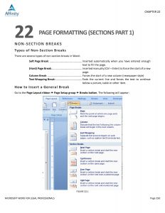 ACG Word Manual - Sample page 150 | Legal Software Training