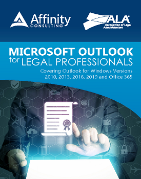 Outlook Manual for Legal Professionals | Legal Microsoft Office Training