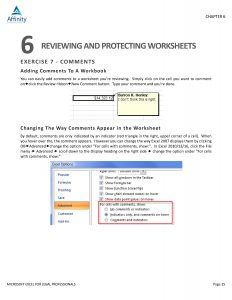 Microsoft Outlook for Legal Professionals Table of Contents and Sample Chapter Content   Legal Software Training