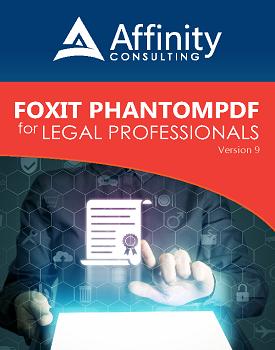 FoxIt PhantomPDF Manual for Legal Professionals | Legal Software Training